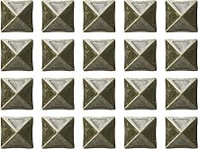 Angoily 20Pcs Upholstery Tacks Pins Metal Antique