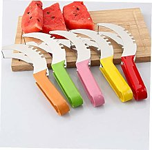 Angoter 1pc Stainless Steel Watermelon Slicer