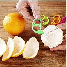 Angoter 1PCS Orange Citrus Fruit Peelers Lemon
