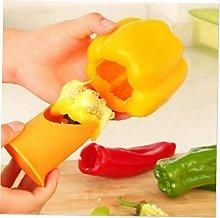 Angoter 2pcs Nordic Kitchen Gadgets Chili Tomato