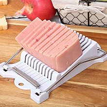 Angoter Stainless Steel Meat Slicer 10 Cutting