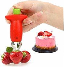 Angoter Strawberry Huller Slicer Cherry Pitters