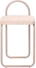 Angui Padded chair - / Velvet by AYTM Pink