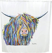 Angus McCoo by Steven Brown Art Shower Curtain -