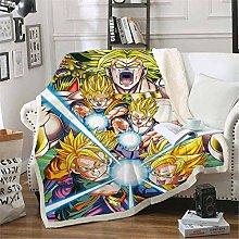 ANHHWW Baby cot cart flannel blanket W70 x H135 cm