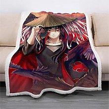 ANHHWW Lamb plush blanket W130 x H150 cm Anime,