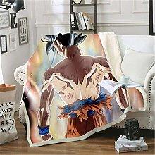 ANHHWW Lamb plush blanket W70 x H135 cm Anime,