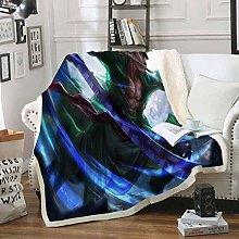 ANHHWW Lamb plush blanket W80 x H120 cm Anime,