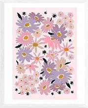 Ani Vidotto - 'Garden Flowers' Framed
