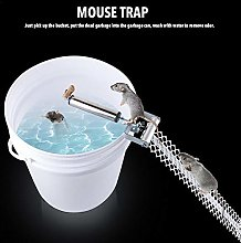 aniceday Rolling Mouse Trap Stainless Steel Auto