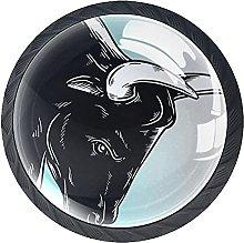 Animal Bull Knobs for Dresser Drawers Decorative