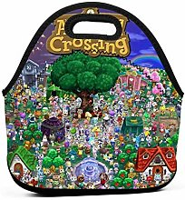 Animal Crossing Poster Insulated Lunch Bag Tote
