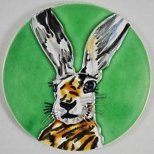 Animal Decorative Ceramic Picture Tile 4 Piece