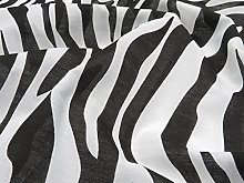 Animal Print Polycotton Fabric by The Metre for