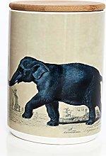 Animal Safari Canister - Round Coffee/Tea