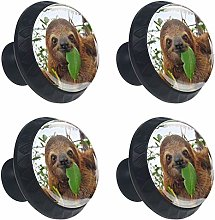 Animal Sloth Cabinet Door Knobs Handles Pulls