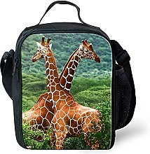 Animal Small Kids Children Packed Lunch Box Bag