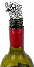 Animal Wine Pourer Aerator Bear (Silver) - Perfect