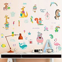 Animals Free Stickers Children's Dormitory
