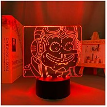 Animation 3d Illusion Led Lamp Night Light 7/16