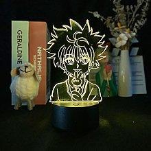 Anime 3D Illusion Light Acrylic Colorful LED Night