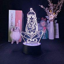 Anime 3D Image Fruit Basket lamp tohru Projection