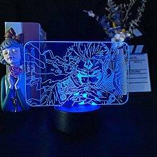 Anime Acrylic LED 3D Image Night Light USB Battery