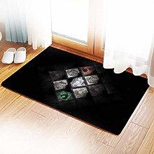 Anime Attack on Titan area carpet, short plush