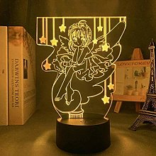 Anime Card captor 3D Lamp KINOMOTO SAKURA Figure