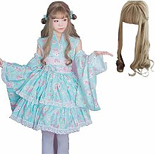 Anime Cosplay Lolita Dress Halloween Fancy Dress
