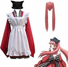 Anime Dress Kokkuri San Cosplay, Lolita Dress Maid