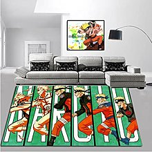 Anime Naruto Rectangular Carpet Home Cartoon