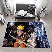 Anime Naruto Rug, Microfiber Anti-skid Reduction