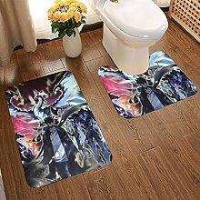 Anime Solo Leveling Soft Flannel Floor Mats