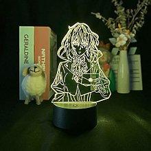 Anime Violet 1 Evergarden 1 LED Illusion Light