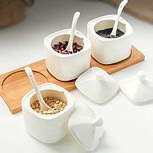 Anjing 1 Pcs Ceramic Sugar Jar Bowls Container for