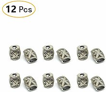 Anjing 12 Pieces Metal Bell Bungee Rope Shock Cord