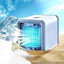ANJJ Portable USB Air Cooler Silent Mini Air