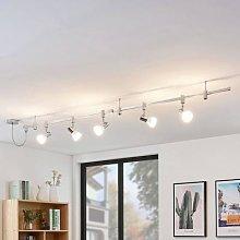 Anjur LED high-voltage track lighting system, E14