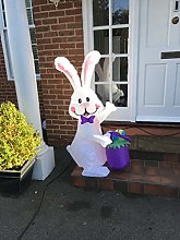 ANKA Easter Decoration Inflatable Bunny with