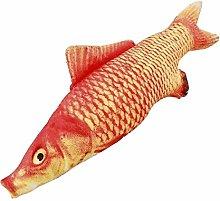 Ankepwj 1pc Funny Simulation Fish Plush Toy