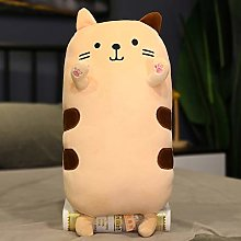 Ankepwj 50/70cm Cute Soft Cat Pillow Plush Toys