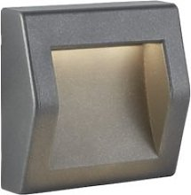 Ankle Large Outdoor LED Lighting In Dark Grey