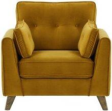 Annabel Armchair August Grove Upholstery Colour: