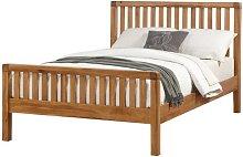 Annabel Slat Kingsize Bed Frame Natur Pur