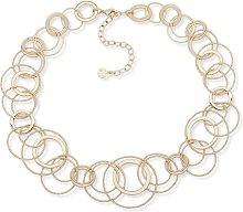 Anne Klein Gold Colour Large Link Necklace