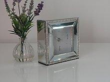 Annibells at Home Square Mirrored Glass Diamante
