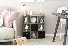 Annie Bookcase Zipcode Design Colour: French Oak