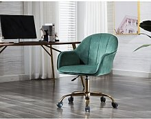 Anniston Desk Chair Canora Grey Colour