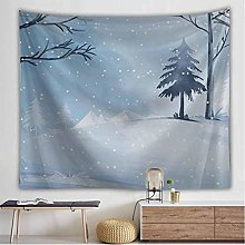 AnnQing Landscape Snow Mountain Tapestry Wall
